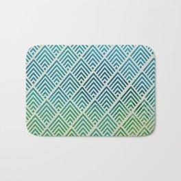 Watercolor Pattern Bath Mat