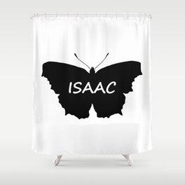 Isaac Butterfly Shower Curtain