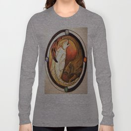 Two Wolves Long Sleeve T-shirt