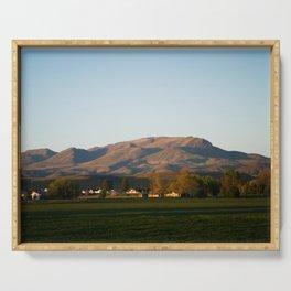 Idaho Mountains Serving Tray