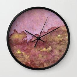 Manic Voices (Alternate Version) Wall Clock