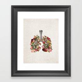 L&R II Framed Art Print