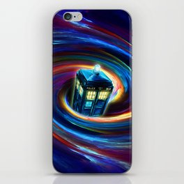 TIME VORTEX iPhone Skin