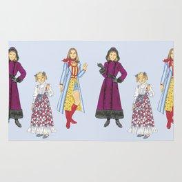 1970's Sisters Rug