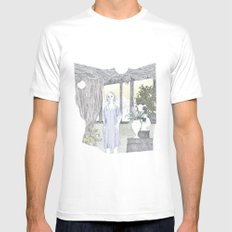 Maria MEDIUM Mens Fitted Tee White