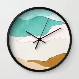Supai_Abstract III Wall Clock