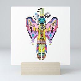 Kachina Butterfy 7 Mini Art Print