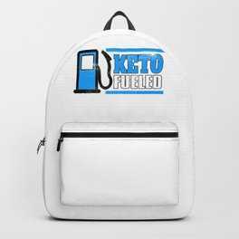 Keto Fueled Healthy Living Diet LCHF Low Carb High Fat Diet Backpack