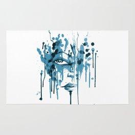 Encres blue Rug