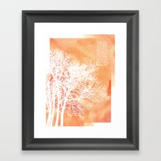 Autumn Silence Framed Art Print