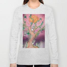 Digital Leaves Long Sleeve T-shirt