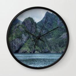 Glacier-Made Landscape Wall Clock