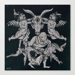 Satan's ball Canvas Print