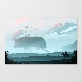 Following The Spirit Canvas Print