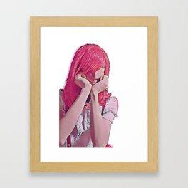 hideo Framed Art Print
