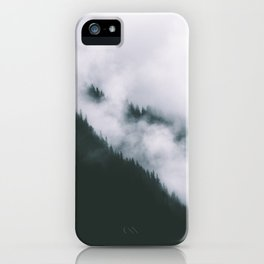 Forest Fog XIII iPhone Case