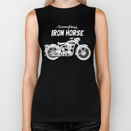 Thoroughbred Iron Horse Biker Tank