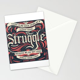 Intersectional Feminism Stationery Cards
