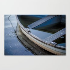 Half in Canvas Print
