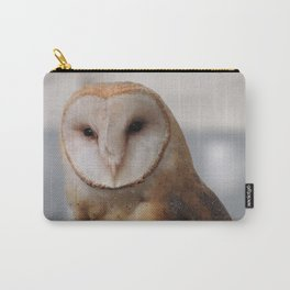 Barn Owl on Alert Carry-All Pouch