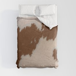Light Brown Cowhide Comforters