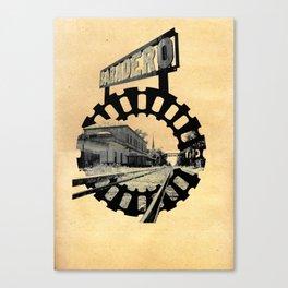 Baradero Train Station Canvas Print
