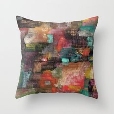 Abstract 77 Throw Pillow