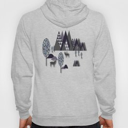 To Be Free In The Mountains Hoody