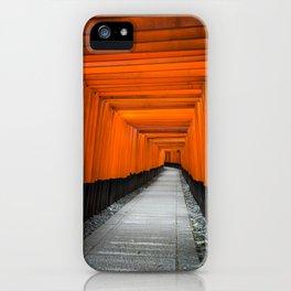 Kyoto Shrine iPhone Case