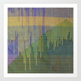 woven pillow Art Print