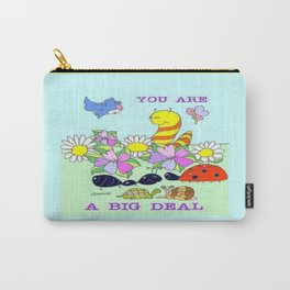 """""""Big Deal"""" Carry-All Pouch"""