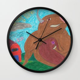 Big Bull Wall Clock