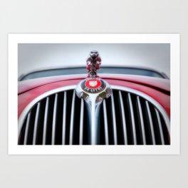 Jaguar car Art Print