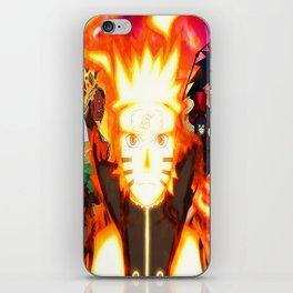 shinobi world war iPhone Skin
