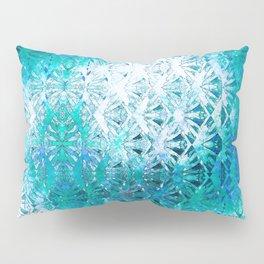 Connectedness (blue) Pillow Sham