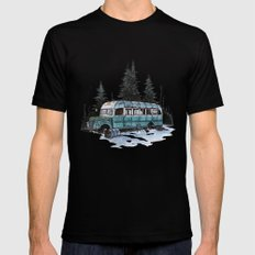 into the wild  Black MEDIUM Mens Fitted Tee