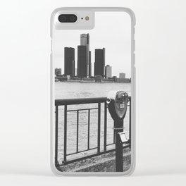 love detroit. Clear iPhone Case