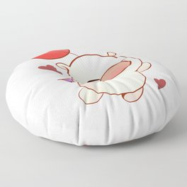Moogle Valentine Floor Pillow