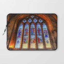 Bath Abbey Stained Glass Window Laptop Sleeve