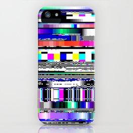 Glitch Ver.1 iPhone Case