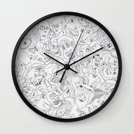 Wacko Jacko #1 Wall Clock