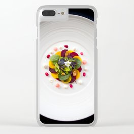 The Art of Food Colours of Nature 2 Clear iPhone Case