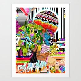 GANGZANCTIMOTH Art Print