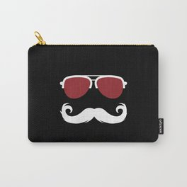 Beard Sunglasses Mustache Carry-All Pouch