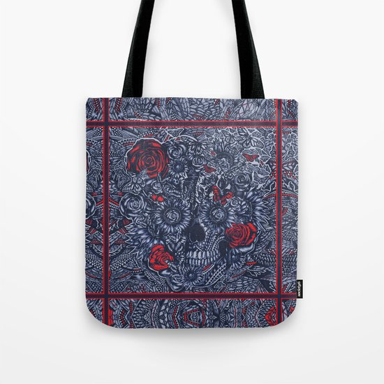 Sensory Overload Americana  Tote Bag