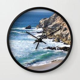 CALIFORNIA COAST - BLUE OCEAN Wall Clock