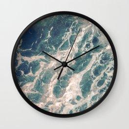Miyajima island waves Wall Clock