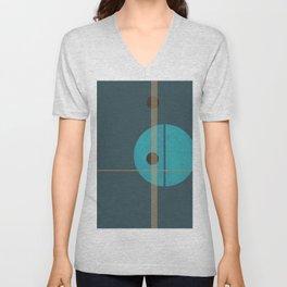 Geometric Abstract Art #4 Unisex V-Neck