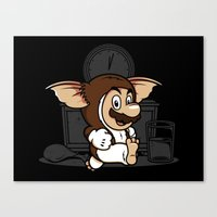 gremlins Canvas Prints featuring It's-a me, Gizmo! by adho1982