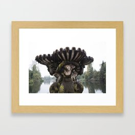 Weight of the World Framed Art Print